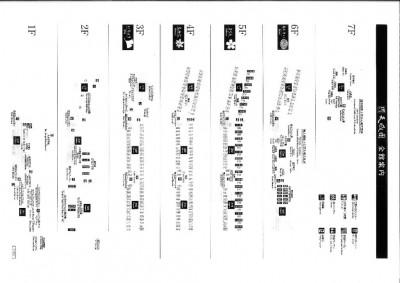 天成園-平面図