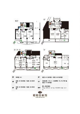 昭和倶楽部平面図